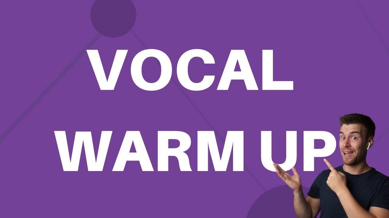 Vocal Warm Up Exercise 7 Hum Https Youtu Be Eqbdlyc7qbe Vocal Warm Up Exercises Workout Warm Up Vocal Warmups Singing