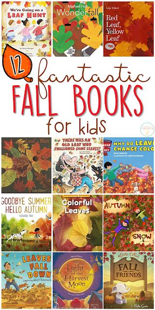 12 Fantastic Fall Books for Kids {with teaching ideas!} - Mrs. Plemons' Kindergarten