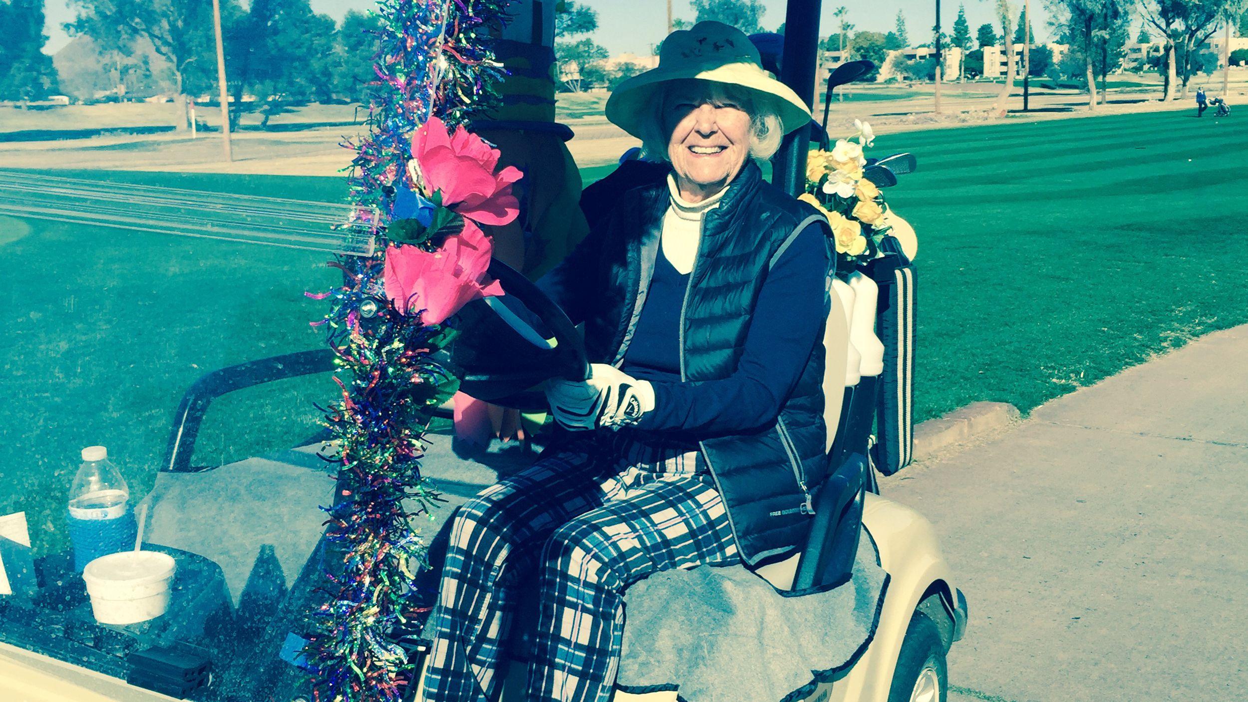 I Enjoy Life Every Day 100 Year Old Golfer S Secret To Living Longer Enjoy Life Senior Fitness Life
