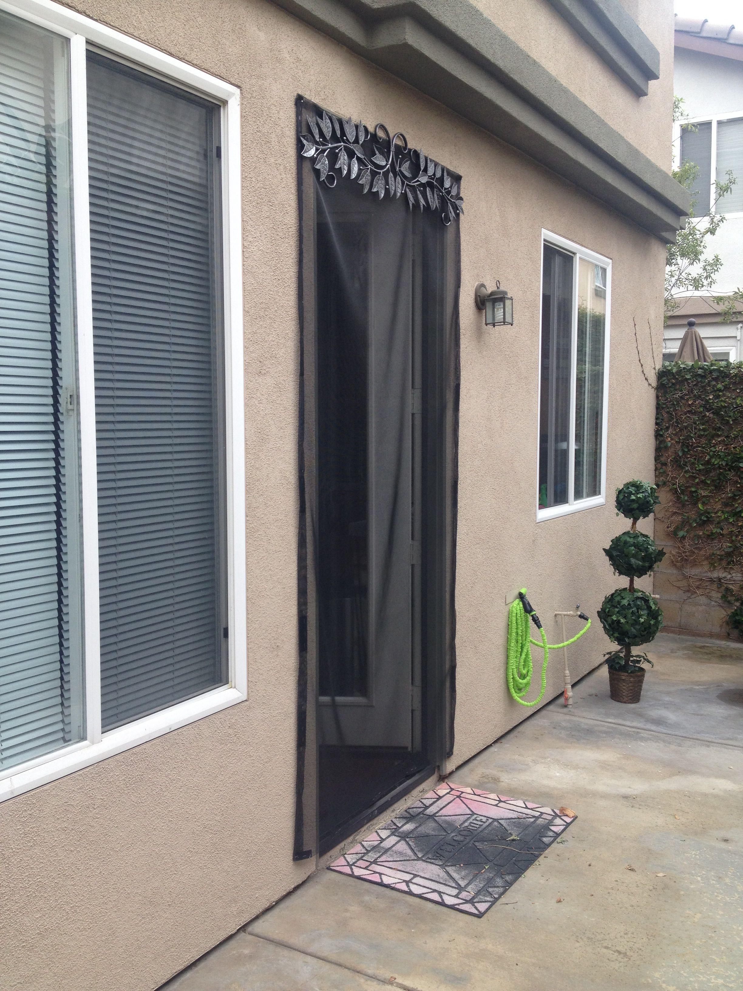 Easy And Fast Diy Screen Door For Apartments Home Rentals Diy