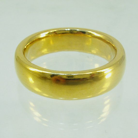 Pure goldMassive ringmens wedding bandPure gold24 Karat solid