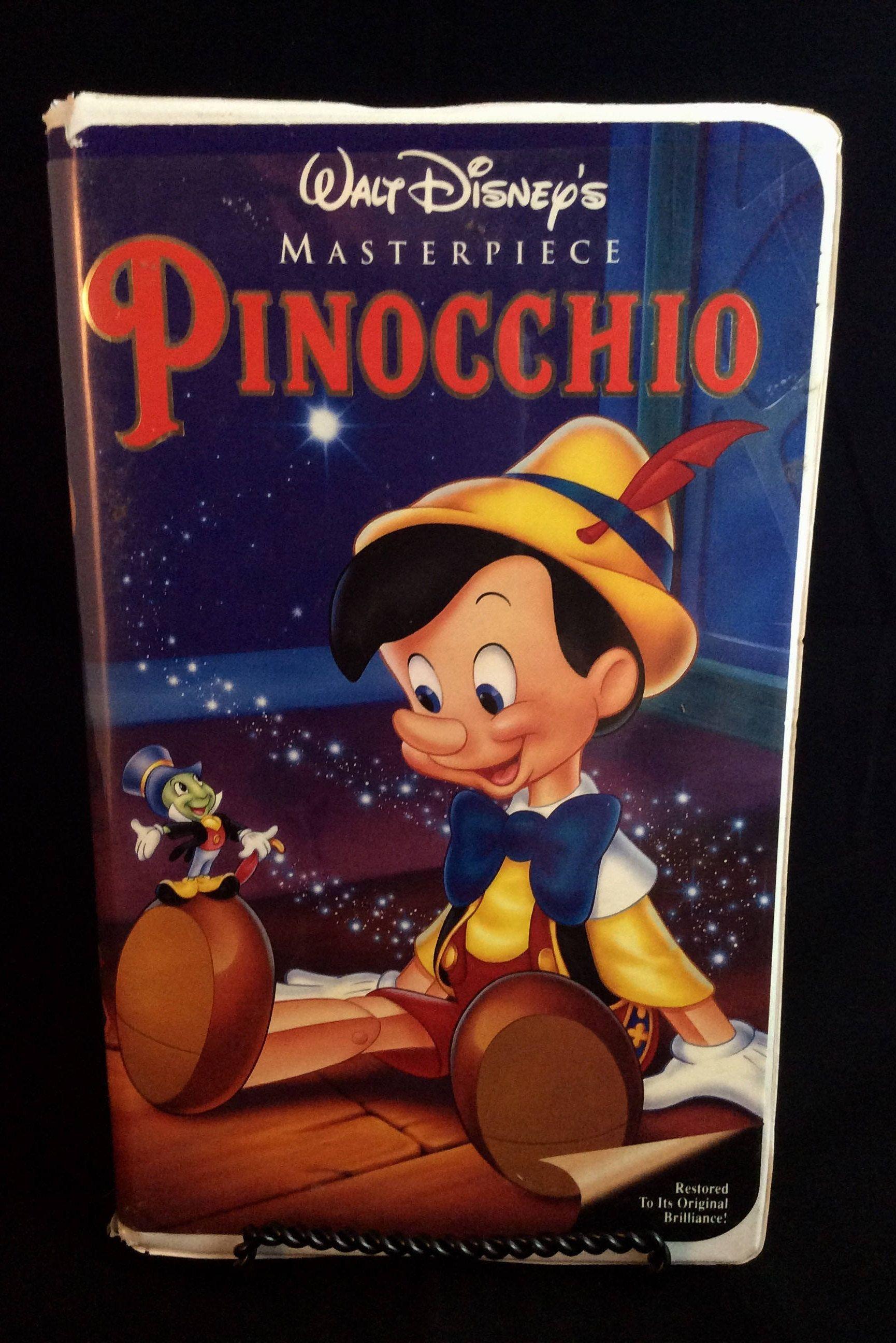 Pinocchio walt disneys masterpiece collection vintage