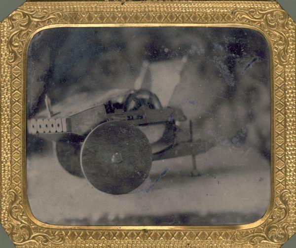 Model Gun | Photograph | Wisconsin Historical Society
