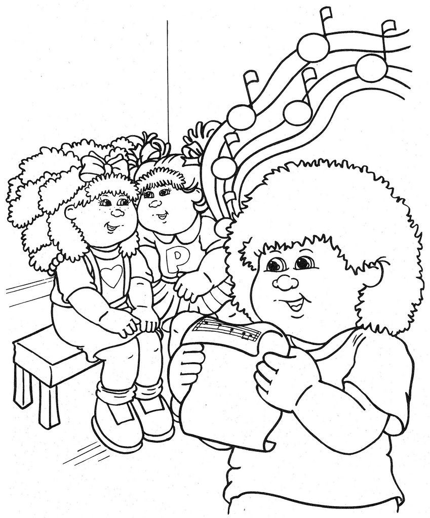 Colouring pages of cabbage - Cabbage Patch Kids Coloring Pages Cabbage Patch Kids Coloring Pages Coloring Page Cabbage Patch Kids