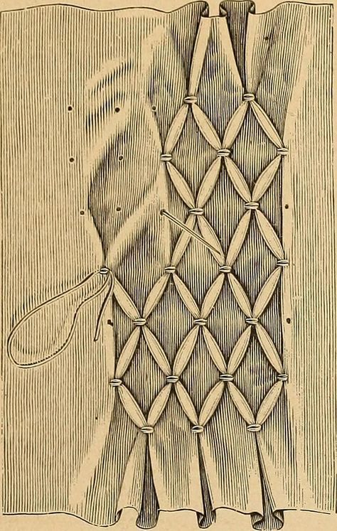 "Photo of Image from page 12 of ""Smocking, fancy stitches, and cross stitch and darned net designs"" (18…"