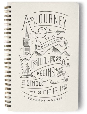 The Journey Day Planner Notebook Or Address Book