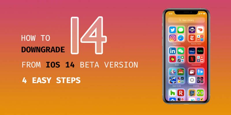 How To Downgrade Ios 14 To Ios 13 On Iphone Di 2020