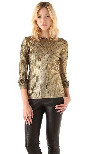 Temperley London Foil Sweater