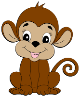 cute monkey clip art cute monkey clipart pinterest clip art rh pinterest com monkey clip art coloring page monkey clip art coloring page