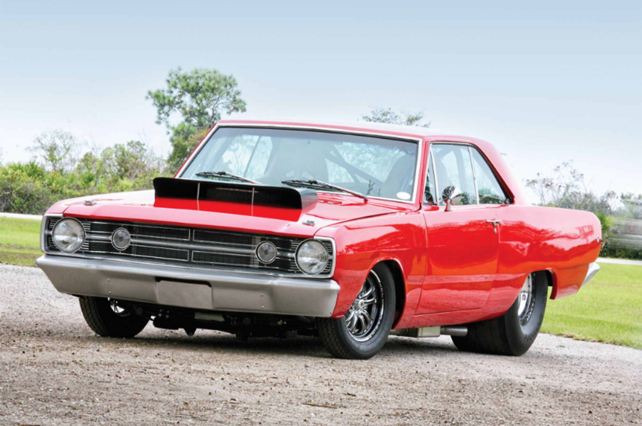 This 68 Dodge Dart Appears Ready For Drag Racing Are There Any