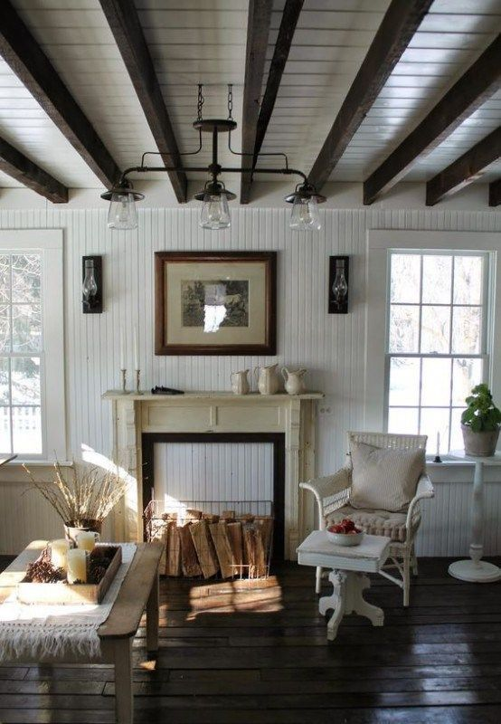 25+ Beadboard Living Room Ideas with Farmhouse Vibe images