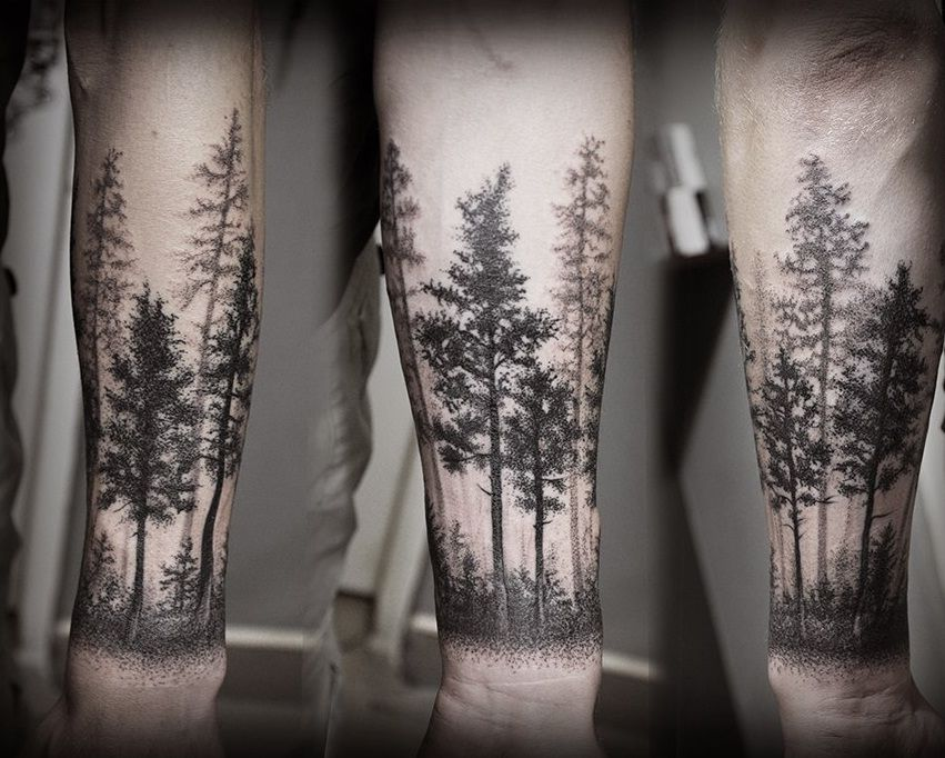 forest tattoo pinterest tattoo tatting and forest. Black Bedroom Furniture Sets. Home Design Ideas