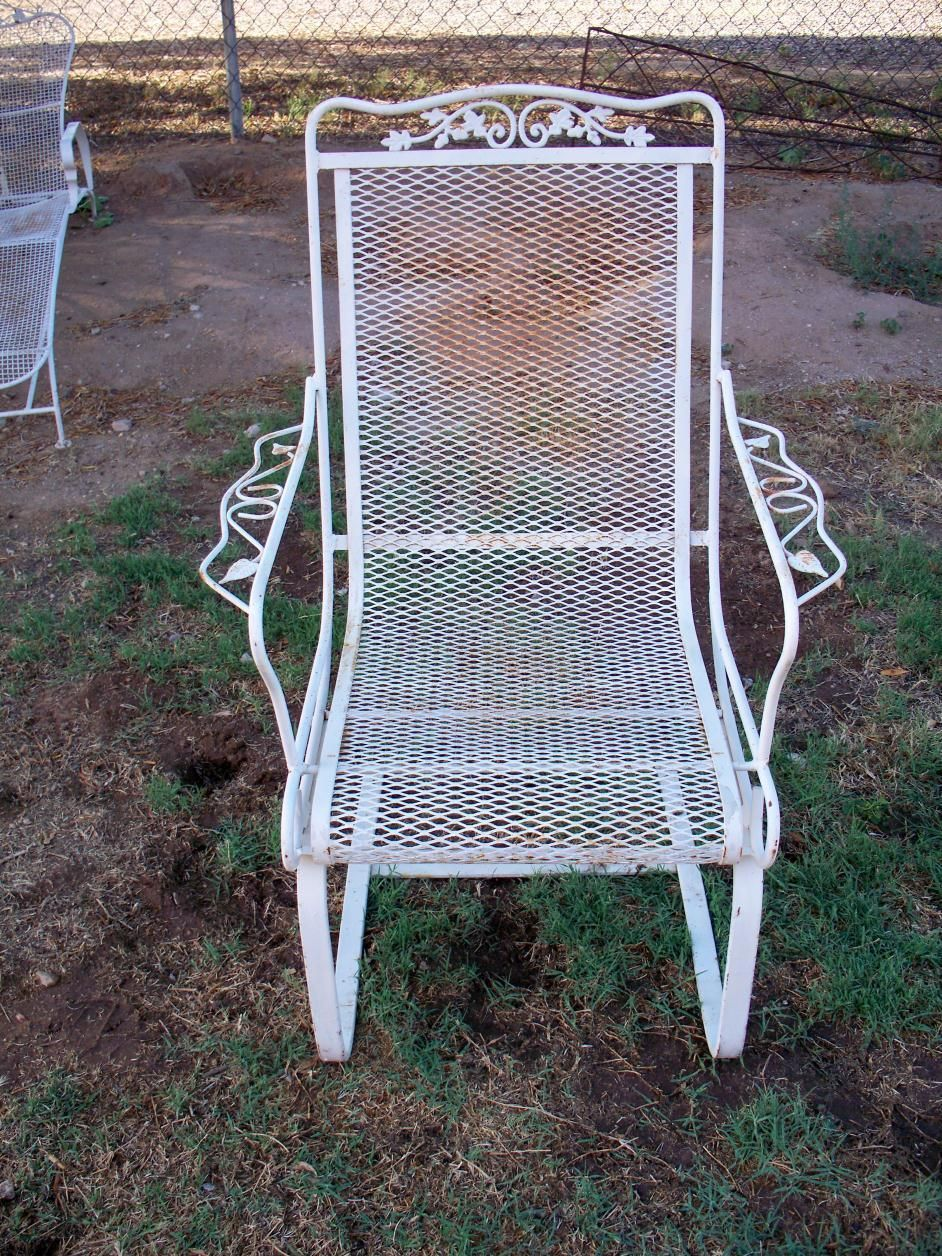 Woodard orleans spring base offered on ebay starting at for Woodard outdoor furniture