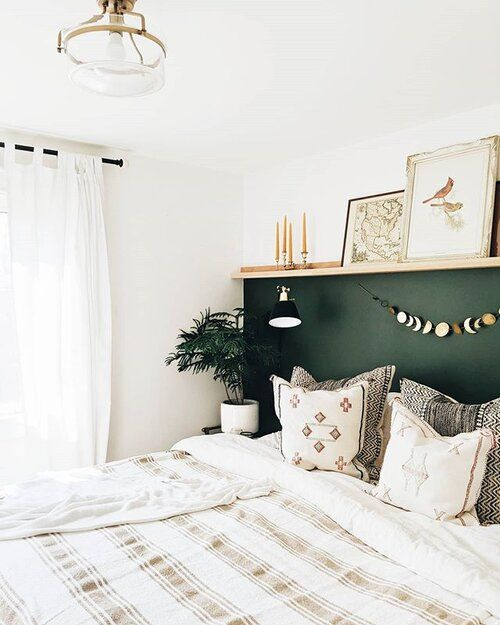 Photo of MASTER BEDROOM | DIY THREE QUARTER WALL — k i r s t e n d i a n e