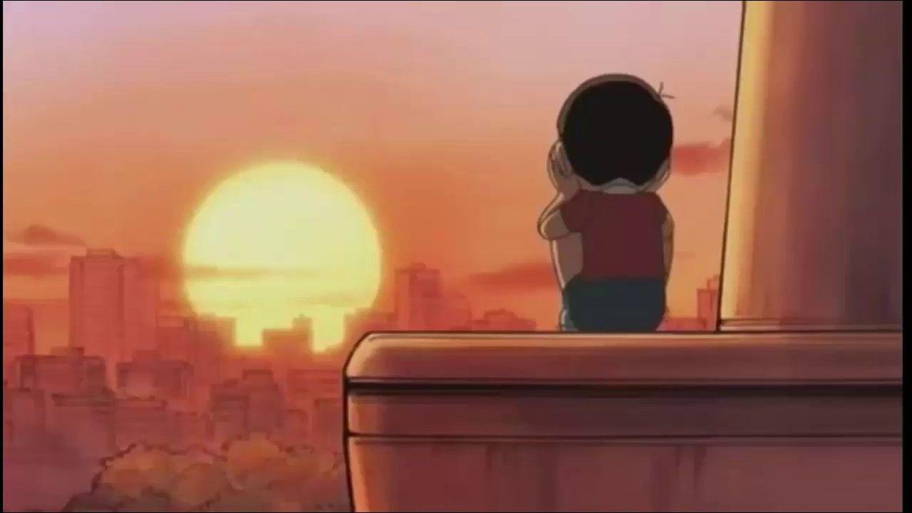 Hình ảnh nobita buồn đẹp nhất   Hình ảnh, Hoạt hình, Hình