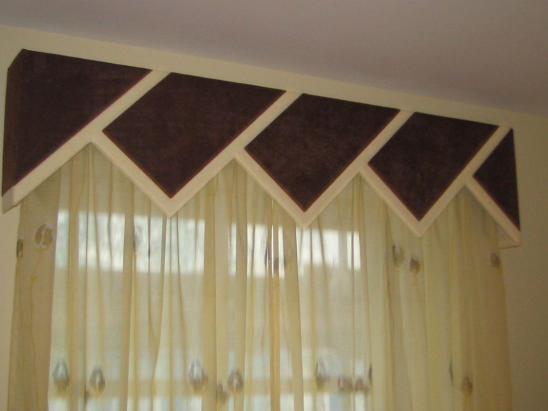 Modelos de cenefas para hacer cortinas cenefas - Modelos cortinas salon ...