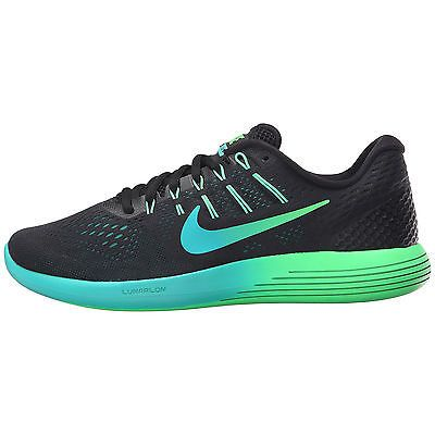 c28d14d21e335 Nike Lunarglide 8 Womens 843726-003 Black Rio Teal Jade Running Shoes Size  6.5