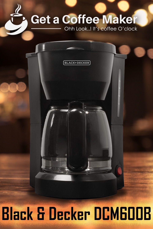 Black & Decker DCM600B Review Coffee maker, Coffee maker