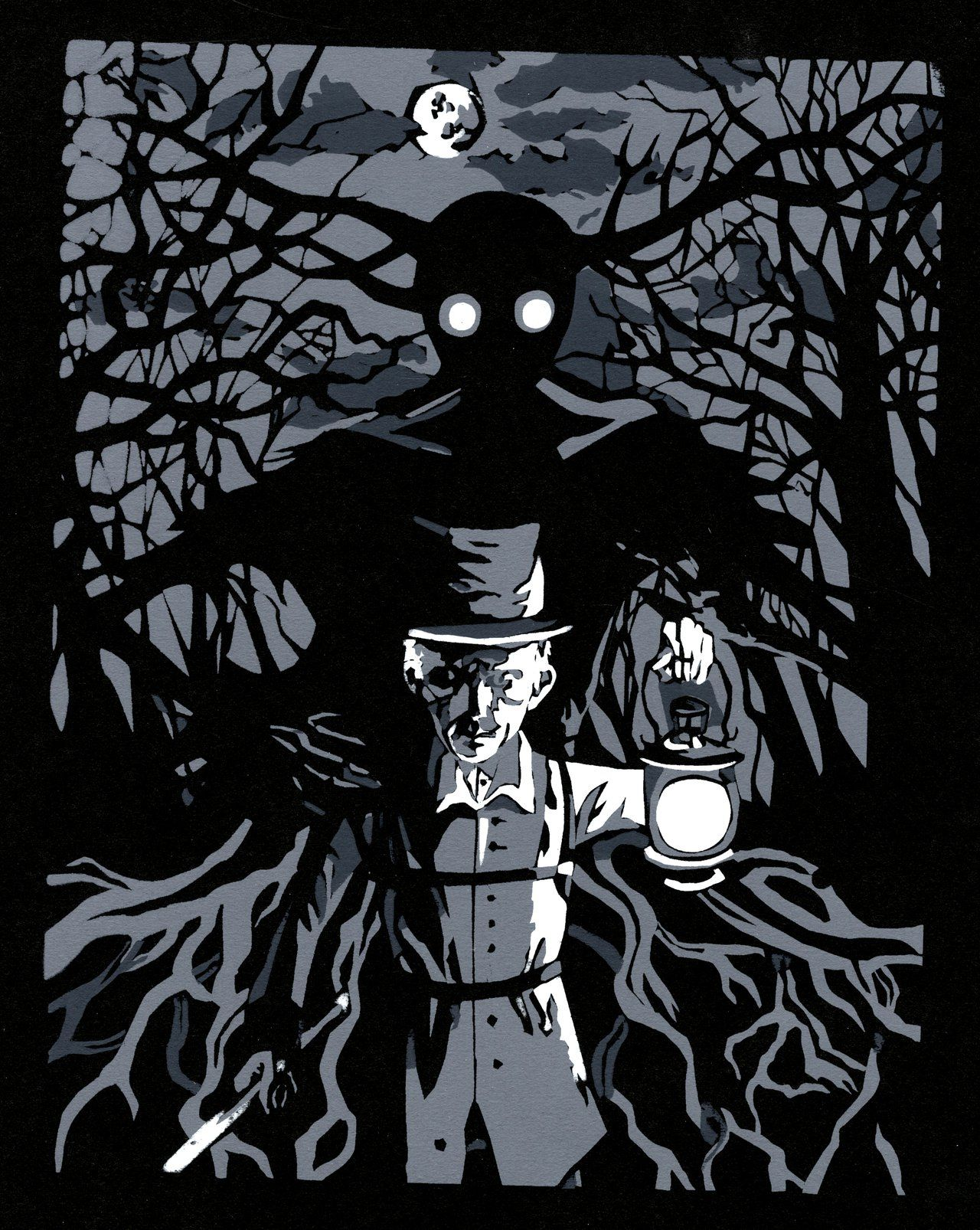 this print features my two favorite characters from over on over the garden wall id=69670