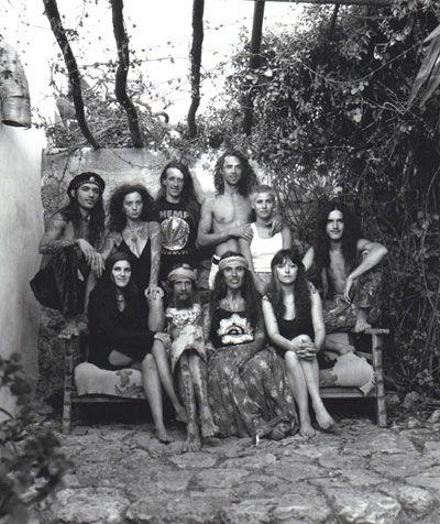 Hippy's old ibiza -