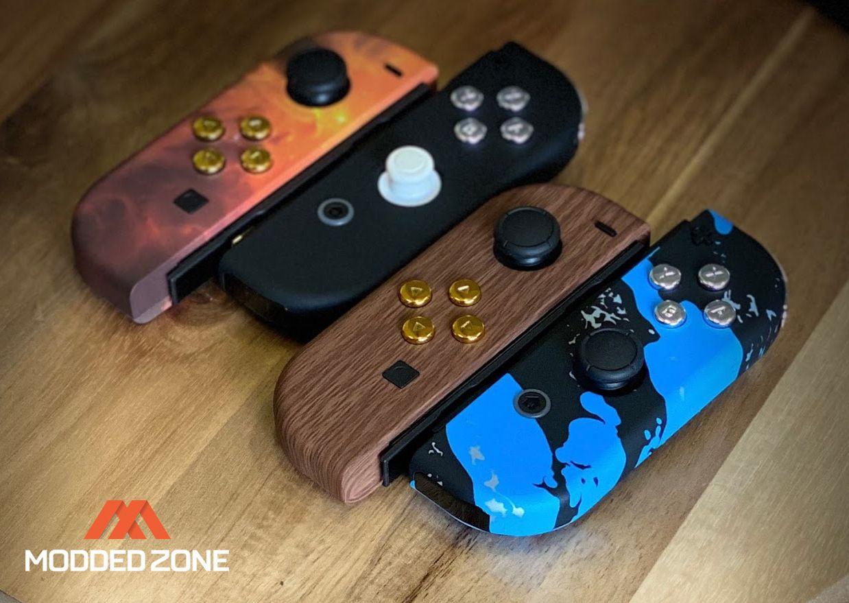 Custom nintendo joy con controllers in 2020 game