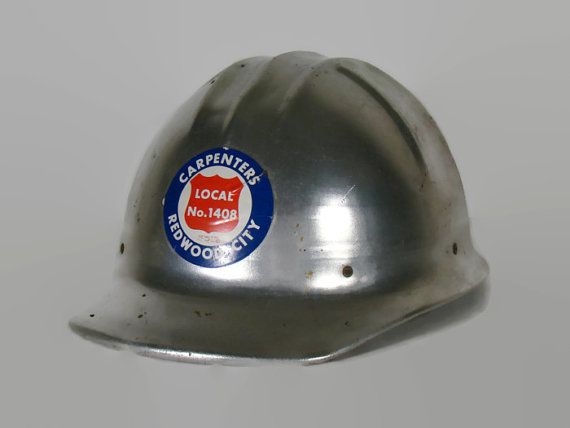 Vintage hard Hat Jackson Products Alumicap Type SC5 by