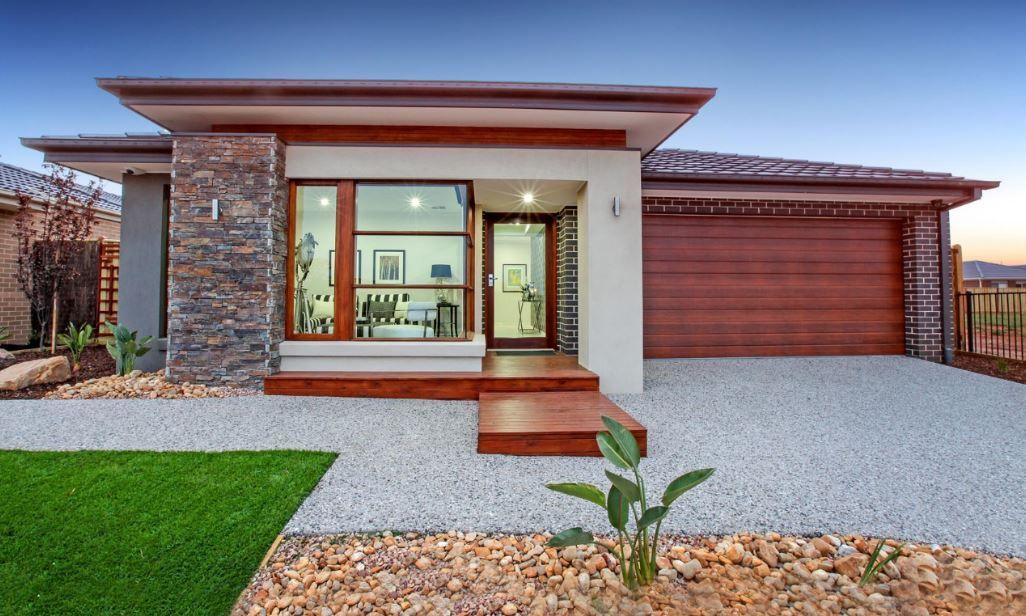 10 Hermosas Fachadas De Casas De Una Planta Casas De Una Planta Fachadas De Casas Modernas Casas