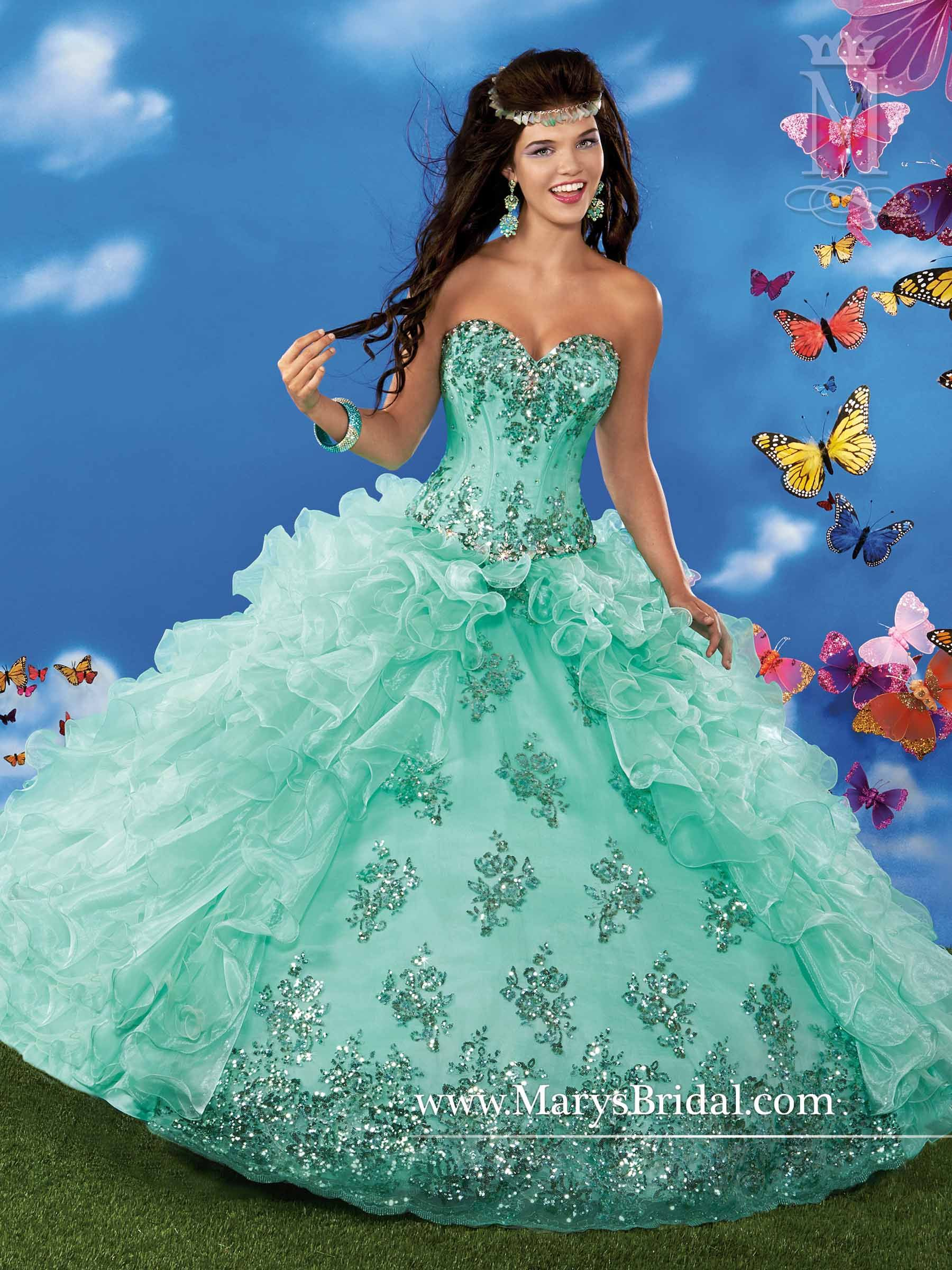 Mary\'s Princess collection of Quinceanera dresses | Quinceanera ...