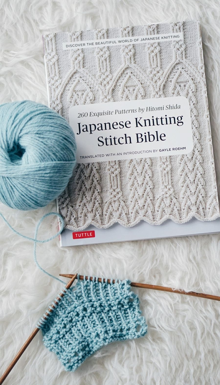 Japanese Knitting Stitch Bible Review Con Imagenes