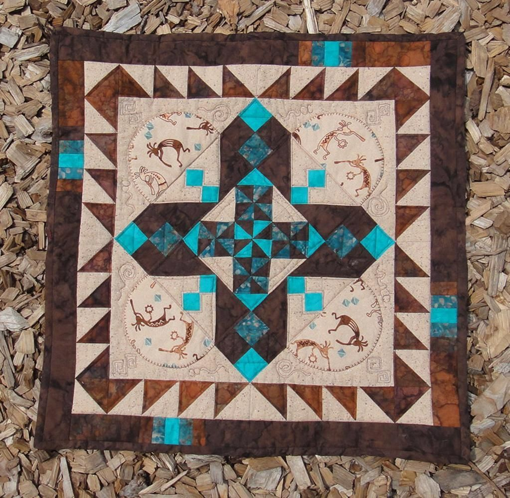 Julia Ward Howe Southwest Style Project On Craftsy Com Southwest Quilts Native American Quilt Patterns Southwestern Quilts