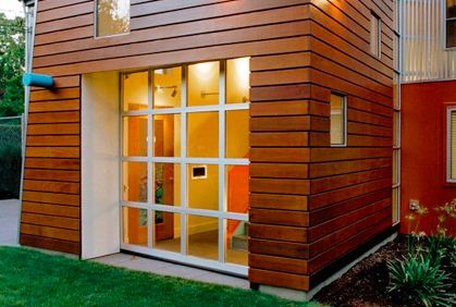 House · Wood Siding Ideas ...