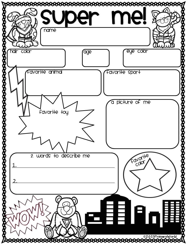 Super Hero ID Card (Rachel Moani) | School Stuff | Pinterest | Hero ...
