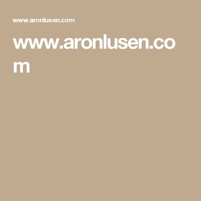 www.aronlusen.com