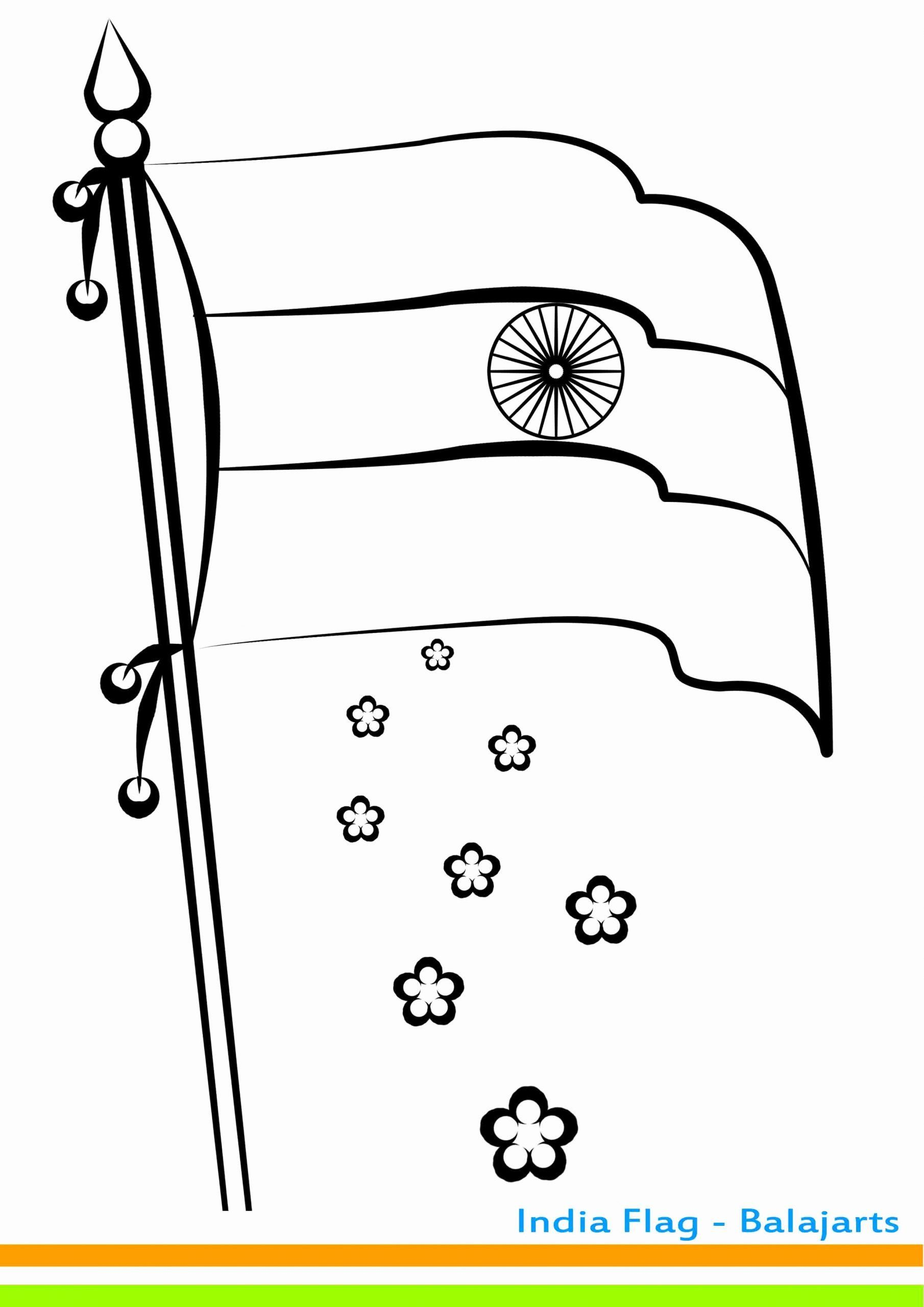 India Flag Coloring Page Luxury Indian National Flag Clipart Black And White India Flag Flag Coloring Pages Coloring Pages