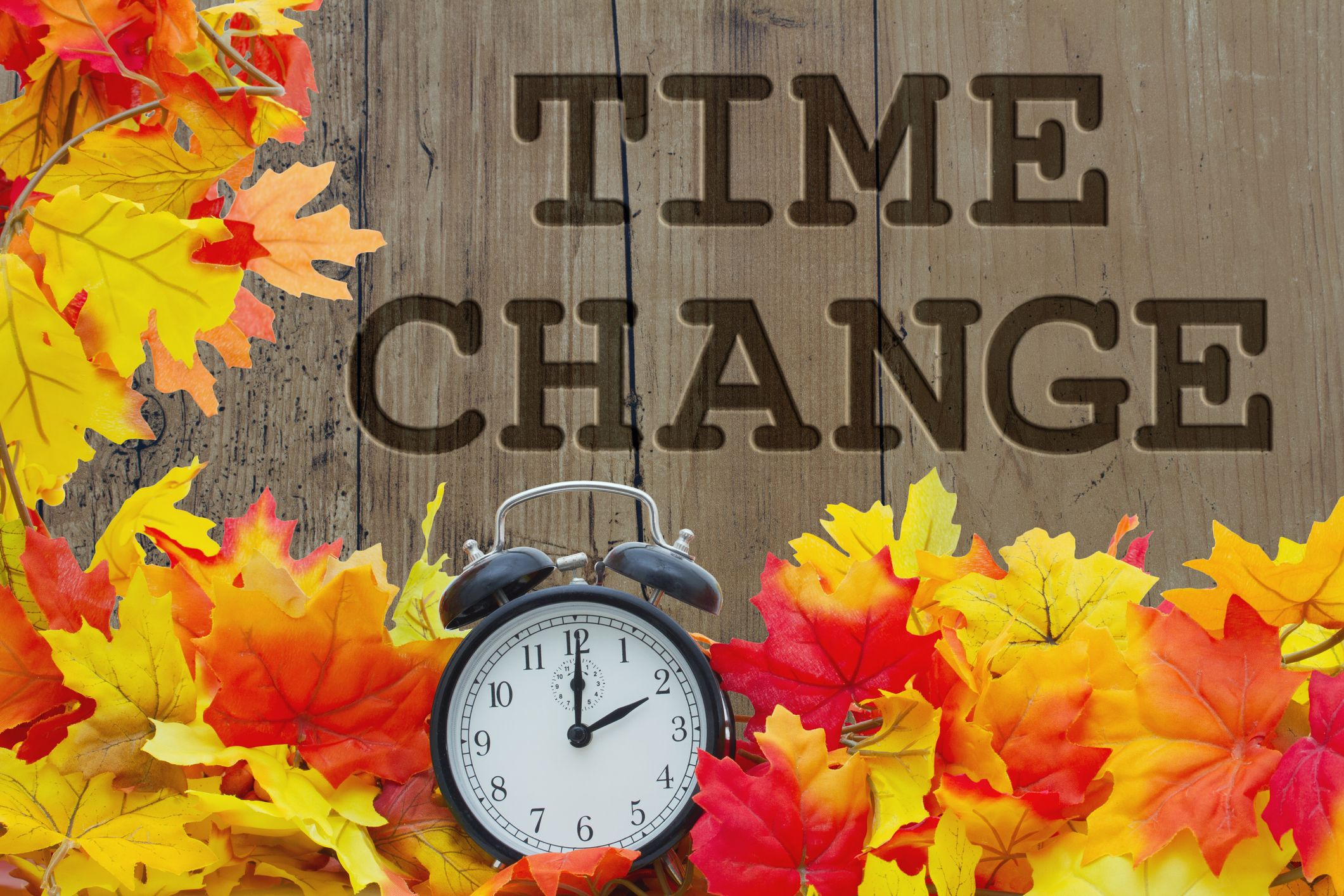Change your clocks this weekend daylight saving time ends