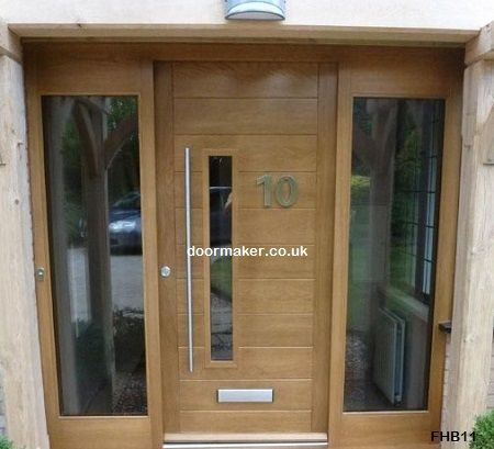 Contemporary Front Doors  oak iroko and other woods  Bespoke Doorsfront door possibility   Houses   Pinterest   Contemporary front   of Contemporary Oak External Doors Uk