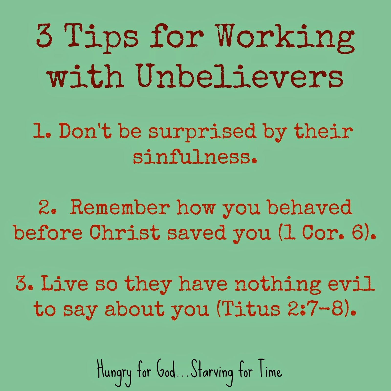 He Wanted To Make Him Curse 6 Steps For Working With Unbelievers