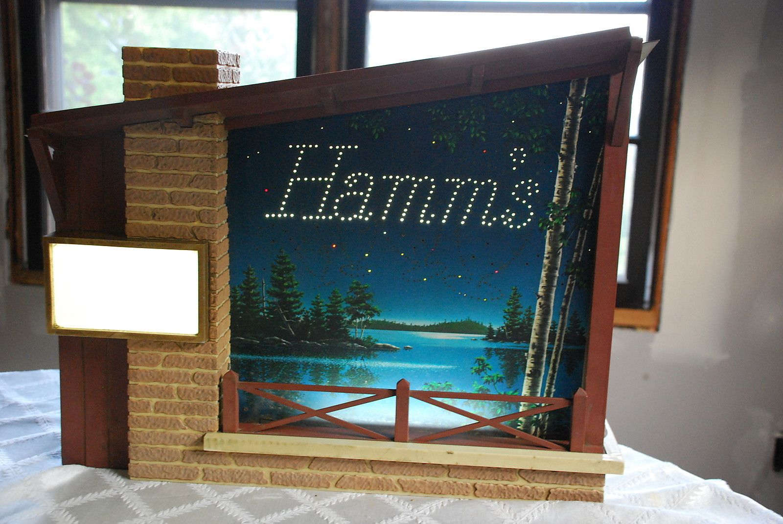 Pin By Barby Williams On Hamm S Beer Lamp Light Hamms Beer Advertising Signs