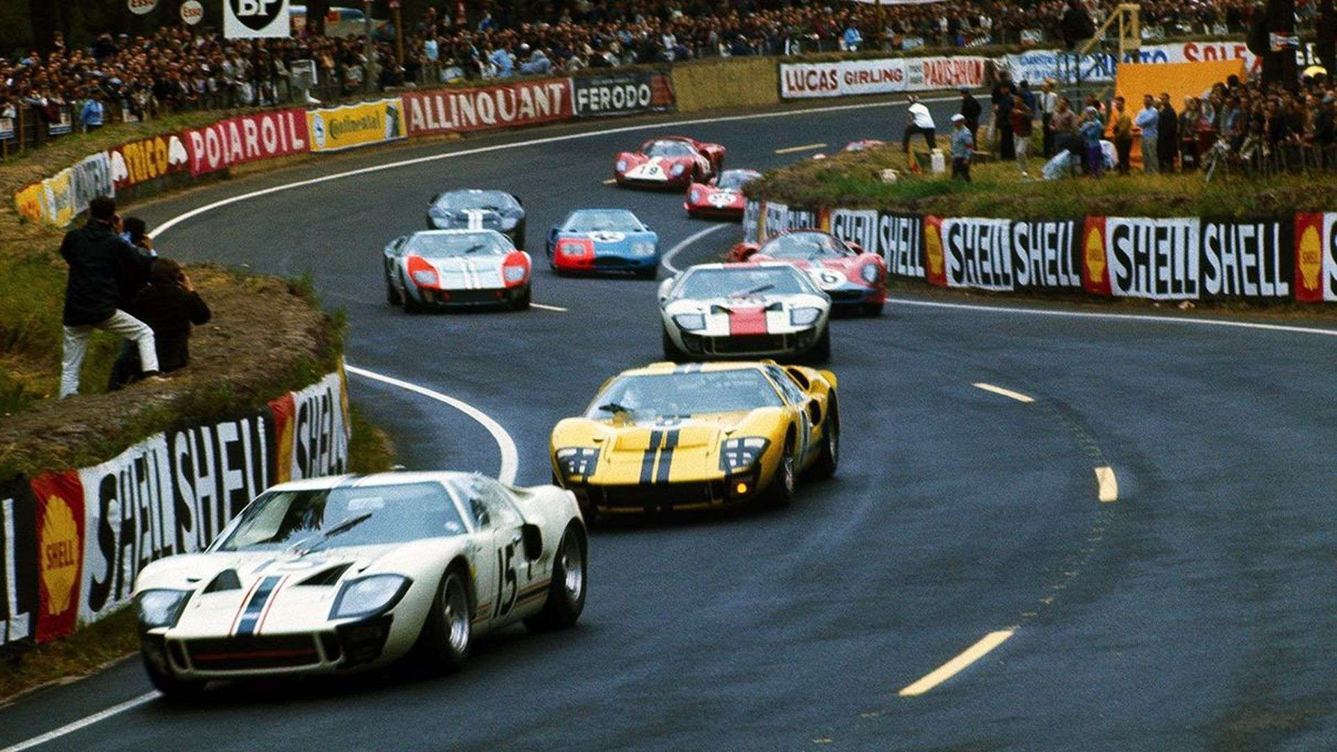 Ridiculous History Ford Gt40 Was Created Out Of Spite To Beat