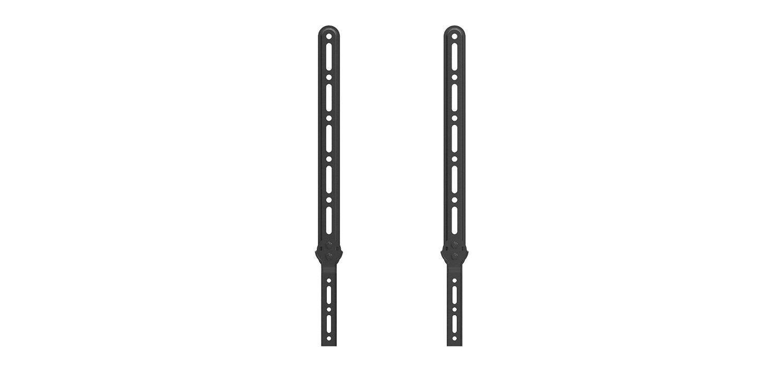QualGear® QG-SB-001-BLK Universal Sound Bar Bracket for