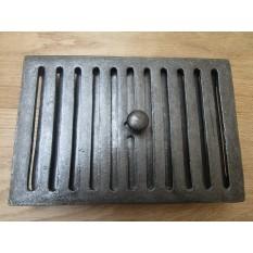 9 X 6 Sliding Vent Antique Iron In 2020 Antique Iron Brick Cast Iron