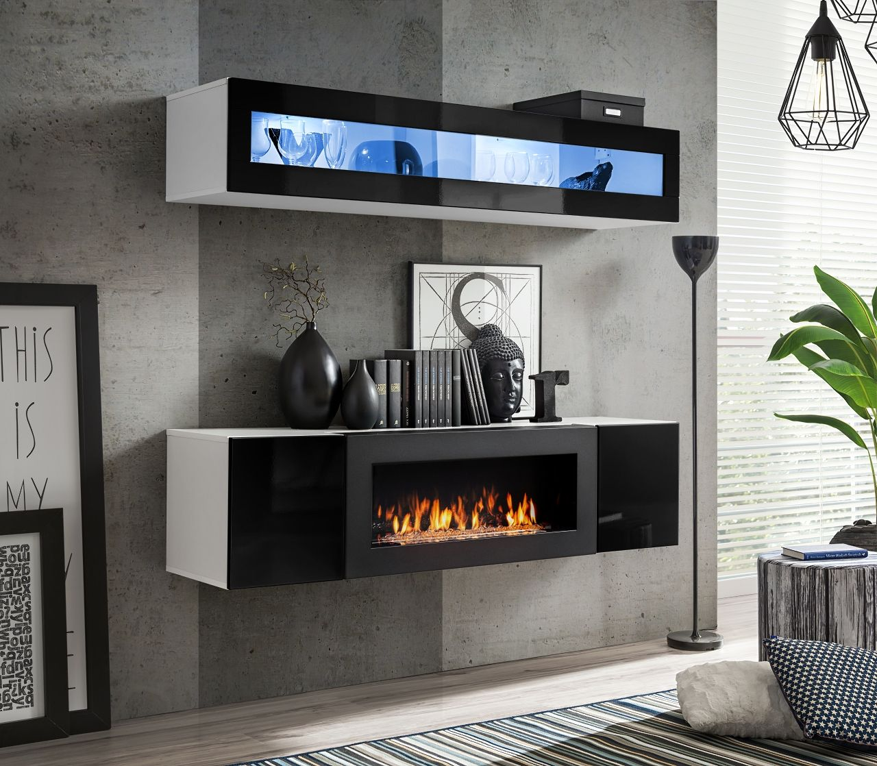 Idea N2 Meuble Tv Home Cinema Meuble Tv Design Meuble Tv Led Meuble De Television