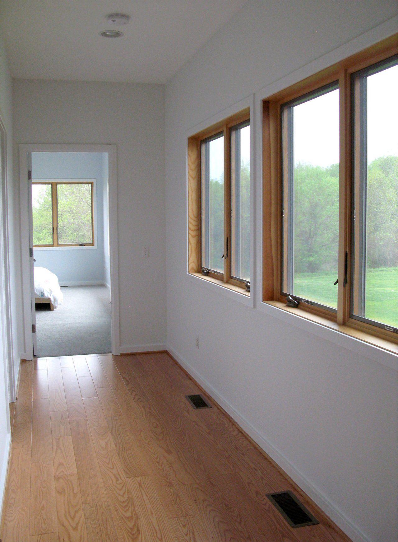 Paul Amp Jackie S Modern Rochester Ranch Wood Windows