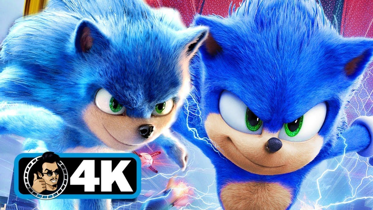 Sonic The Hedgehog Old Vs New Trailer 4k Hd 2020 New Trailers Youtube Olds