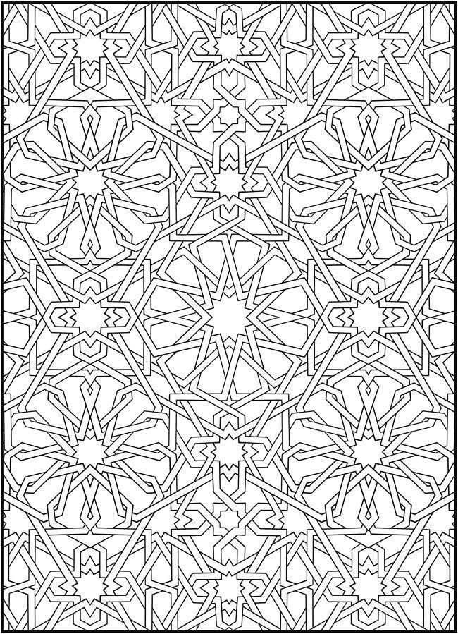 creative haven mosaic masterpieces malbuch  freebies fer