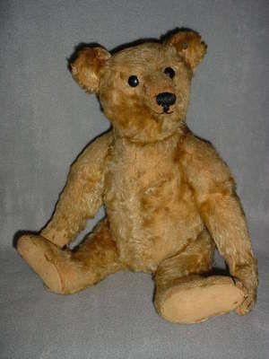 Antique Steiff Bear w/Button | Antique teddy bears, Bear ...