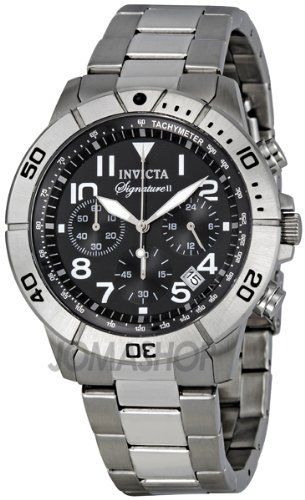 329ba4392a4 Invicta Signature II Chronograph Tachymeter Stainless Steel Mens Watch 7349  Invicta.  87.00