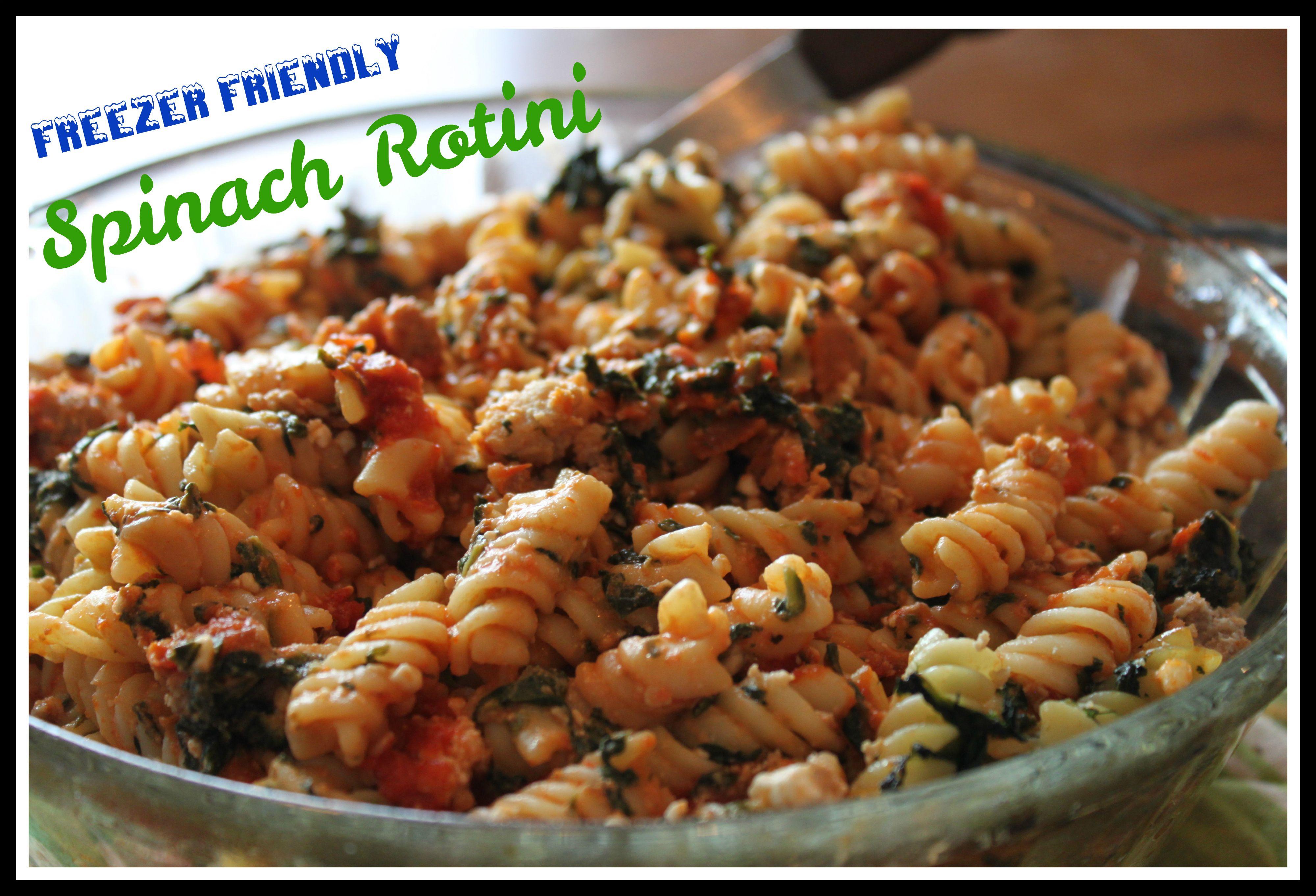 Low-sodium Spinach Rotini | Ricetta | Il segreto, Casa e Cucinare