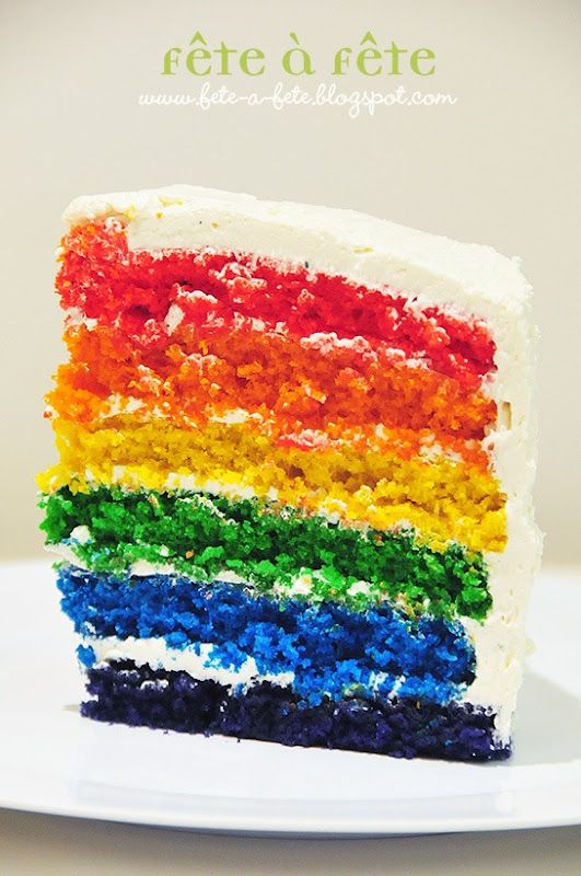 Sweets Table - Surprise Rainbow Cake 2 copy