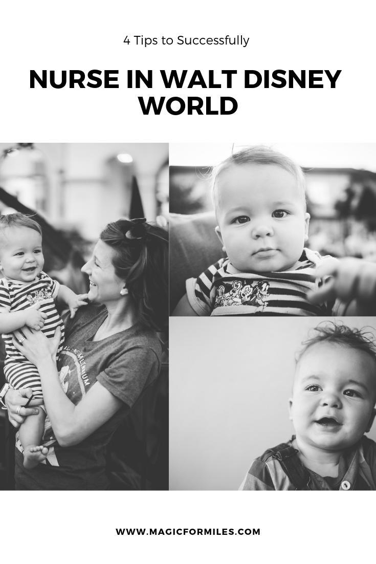 4 Tips For Successful Baby Nursing In Walt Disney World